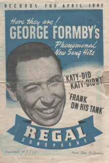 George formby happy go lucky me lyrics